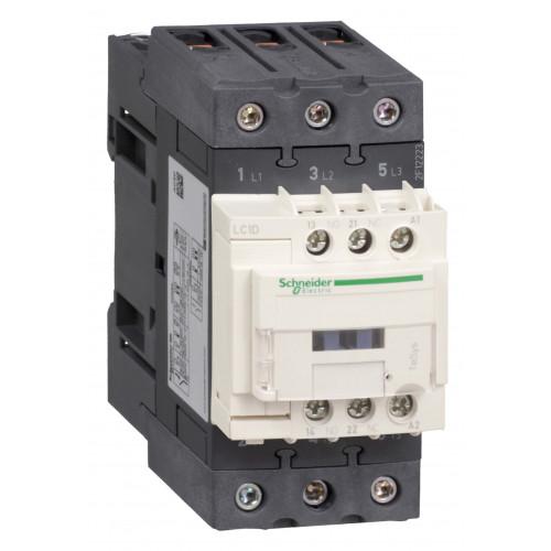 Пускатель магнитный Schneider Electric 50А катушка управления 220В АС 1НО+1НЗ LC1D (LC1D50AM7)